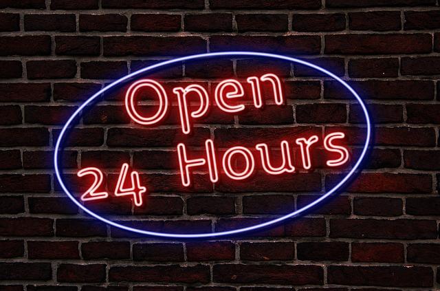 Open-24-hours