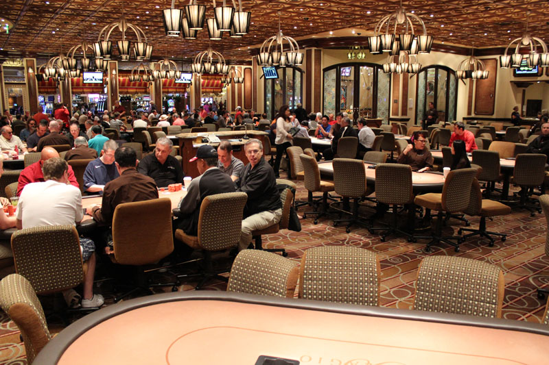 Famous Bellagio Poker Room