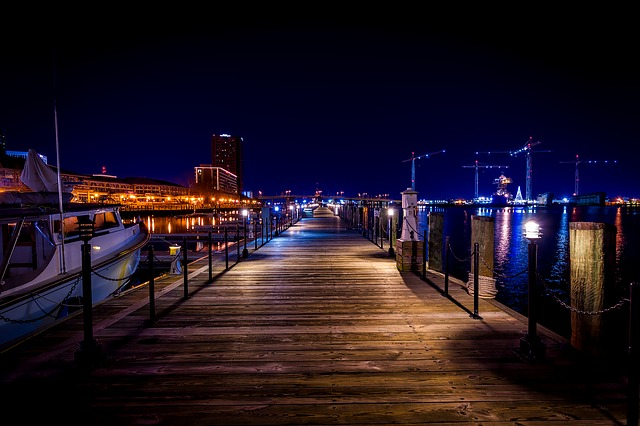Docks at Norfolk, Virginia